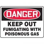 "Accuform MCHL132XT10, OSHA Danger Safety Sign ""Keep Out…"""