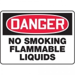 "Accuform MCHL134XT10, OSHA Danger Safety Sign ""No Smoking…"""