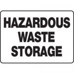 "Accuform MCHL519XP10, OSHA Satefy Sign ""Hazardous Waste Storage"""
