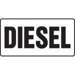 "Accuform MCHL540XF10, 6″ x 12″ Safety Sign ""Diesel"" Dura-Fiberglass"