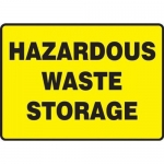 """Accuform MCHL566XP10, Safety Sign """"Hazardous Waste Storage"""""""