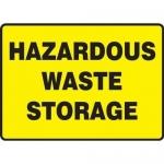 """Accuform MCHL568XP10, Safety Sign """"Hazardous Waste Storage"""""""
