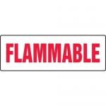 """Accuform MCHL578XF10, Safety Sign """"Flammable"""" Dura-Fiberglass"""