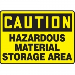 "Accuform MCHL677VP10, Safety Sign ""Hazardous Material Storage Area"""
