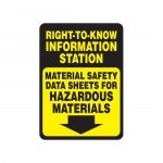 "Accuform MCHM510XT10, Safety Sign ""Material Safety…"""