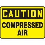 "Accuform MCPG604XT10, OSHA Caution Safety Sign ""Compressed Air"""