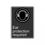 """Accuform MCSA563XF10, 14″ x 10″ Safety Sign """"Ear …"""""""