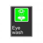 "Accuform MCSA943XT10, 14″ x 10″ Safety Sign ""Eye Wash"""