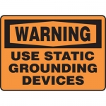 """Accuform MELC311XV10, 7″ x 10″ Safety Sign """"Use Static …"""""""