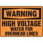 "Accuform MELC377VP10, 10″ x 14″ Safety Sign ""High Voltage …"""