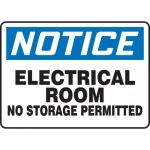 "Accuform MELC804VP10, 10″ x 14″ Safety Sign ""Room – No Storage …"""