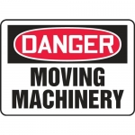 """Accuform MEQM062XV10, 7″ x 10″ Safety Sign """"Moving Machinery"""""""