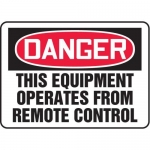 "Accuform MEQM082XT10, 10″ x 14″ Safety Sign ""This Equipment …"""