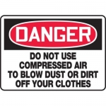 "Accuform MEQM135XT10, 10″ x 14″ Safety Sign ""Do Not Use …"""