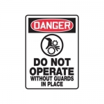 """Accuform MEQM174XV10, 14″ x 10″ Safety Sign """"Do Not Operate …"""""""