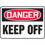 "Accuform MEQM180XF10, 18″ x 24″ Safety Sign ""Keep Off"""