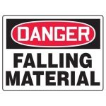"Accuform MEQM212XF10, 18″ x 24″ Safety Sign ""Falling Material"""