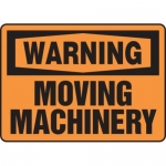 """Accuform MEQM335XV10, 7″ x 10″ Safety Sign """"Moving Machinery"""""""