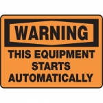 """Accuform MEQM349XV10, 7″ x 10″ Safety Sign """"This Equipment …"""""""