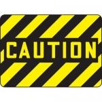 "Accuform MEQM500VS10, 10″ x 14″ Caution Safety Sign ""Caution"""