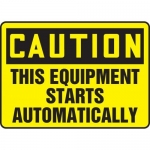 """Accuform MEQM657XF10, 12″ x 18″ Safety Sign """"This Equipment …"""""""