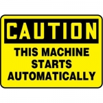 """Accuform MEQM679XV10, 7″ x 10″ Safety Sign """"This Machine …"""""""