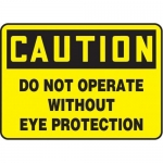 """Accuform MEQM698XV10, 7″ x 10″ OSHA Safety Sign """"Do Not Operate …"""""""