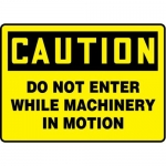 """Accuform MEQM719XV10, 7″ x 10″ Safety Sign """"Do Not Enter …"""""""