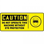 """Accuform MEQM740XV10, 7″ x 17″ Safety Sign """"Do Not Operate This …"""""""