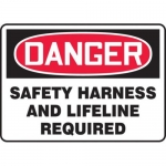 "Accuform MFPR168XF10, 18″ x 24″ Safety Sign ""Safety Harness …"""