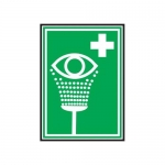 Accuform MFSD432XT10, 10″ x 7″ First Aid Sign Eyewash Symbol
