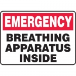 "Accuform MFSD440XT10, 7″ x 10″ First Aid Sign ""Breathing …"""