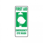"Accuform MFSD531XT10, 17″ x 7″ First Aid Safety Sign ""Emergency …"""