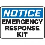 "Accuform MFSD844XV10, 7″ x 10″ Safety Sign ""Emergency …"""