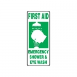 "Accuform MFSD996XT10, 17″ x 7″ Safety Sign ""First Aid – Emergency …"""