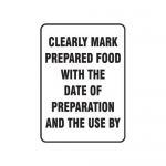 """Accuform MFSY511VA10, 14″ x 10″ Safety Sign """"Clearly Mark …"""""""