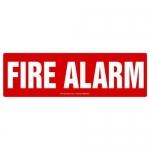 "Accuform MFXG411XT10, 4″ x 12″ Safety Sign ""Fire Alarm"""