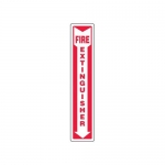 """Accuform MFXG543XT10, 12″ x 4″ Fire Safety Sign """"Fire Extinguisher"""""""