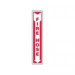 "Accuform MFXG559XT10, 12″ x 4″ Fire Safety Sign ""Fire Hose"""