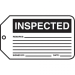"Accuform MMT305CTP, Safety Tag ""Inspected"""