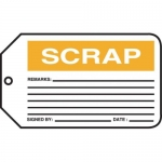 "Accuform MMT308CTP, Safety Tag ""Scrap"""