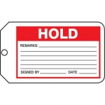 "Accuform MMT316CTP, Safety Tag ""Hold"""