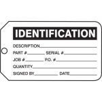 "Accuform MMT320CTP, Safety Tag ""Identification"""