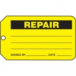"Accuform MMT336CTP, Safety Tag ""Repair"" PF-Cardstock"
