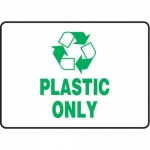 """Accuform MPLR573VA, 10″ x 14″ Safety Sign """"Plastic Only"""""""