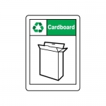 """Accuform MPLR612VS10, 14″ x 10″ Safety Sign """"Cardboard"""""""