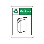 """Accuform MPLR615VA, 14″ x 10″ Safety Sign """"Cartons"""""""