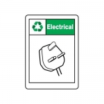 """Accuform MPLR624VA, 14″ x 10″ Safety Sign """"Electrical"""""""