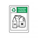 """Accuform MPLR642VA, 14″ x 10″ Safety Sign """"Household And Garden …"""""""