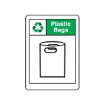 """Accuform MPLR675VA, 14″ x 10″ Safety Sign """"Plastic Bags"""""""
